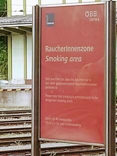 raucherinnenzone